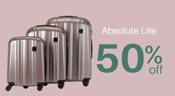 Absolute Lite 50% off