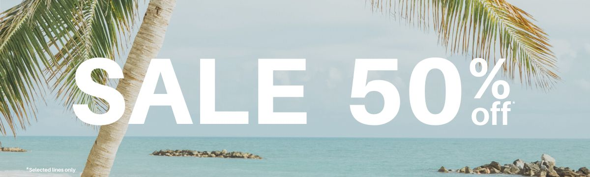 Sale up to 50% off all luggage & bags